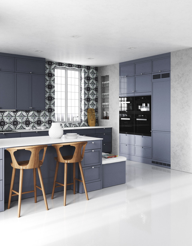 Malt Shaker Blue kitchen 01