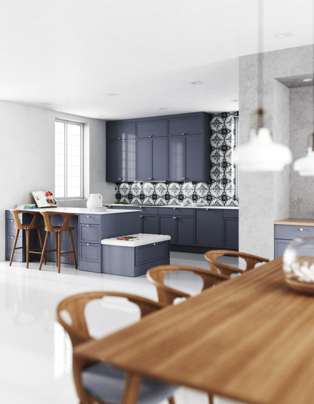 Malt Shaker Blue kitchen 05